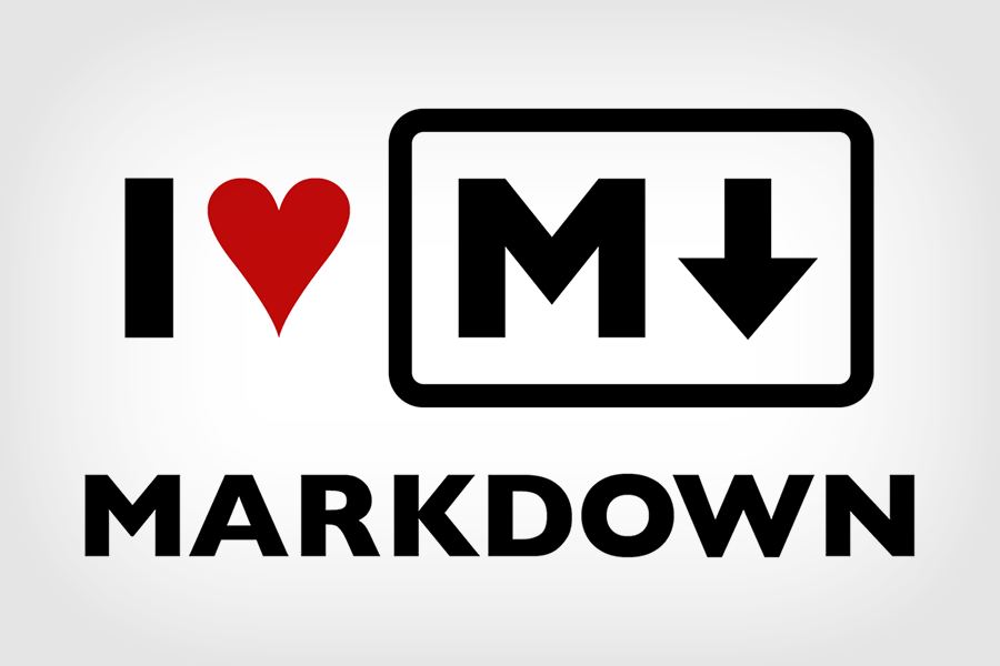 "I finally ""get"" Markdown syntax language, and now I love"
